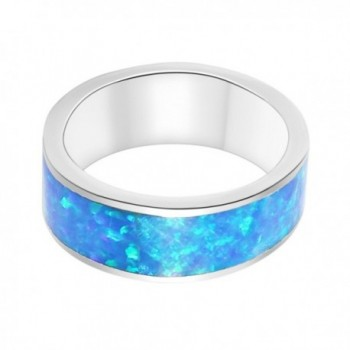 CHOOSE COLOR Birthstone Silver Rainbow in Women's Statement Rings