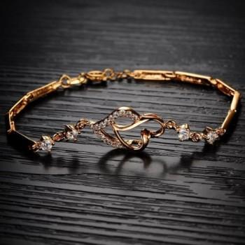Jewelry18k Plated Elegant Bracelet Wedding