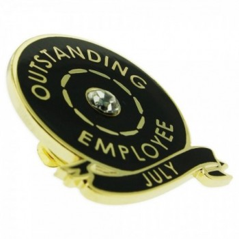 PinMarts Plated Month Outstanding Employee in Women's Brooches & Pins