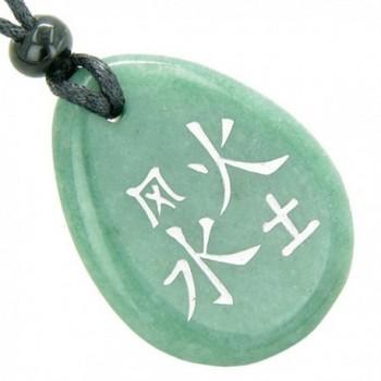 Lucky Elements Quartz Pendant Necklace