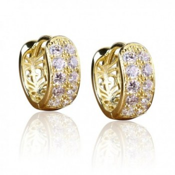 Womens Earrings Crystal Sterling Earnuts - CF11U84KFEL