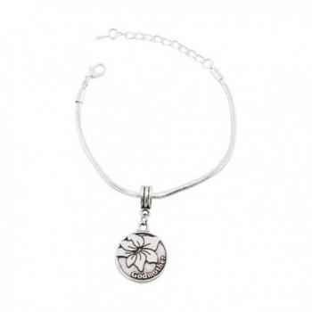 Godmother Snake Chain Charm Bracelet - CL12NABC1SE