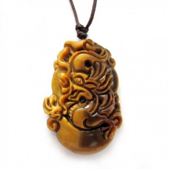 Tiger Eye Chinese Zodiac Animals Amulet Pendants Various Signs - CY11LXRLRKX