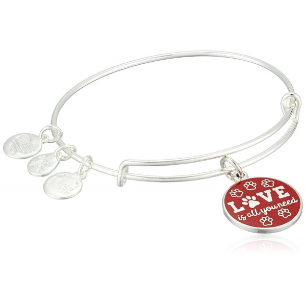 Alex and Ani Words are Powerful- Love is All You Need EWB Bangle Bracelet - CZ185O5NQSR