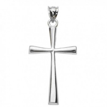 Sterling Silver Dainty Cross Pendant (3 sizes available) - CP12NUQ8H67