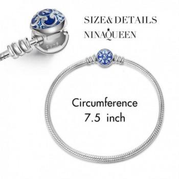NinaQueen Sterling Silver Bracelet Charms