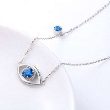 Necklace Sterling Silver Cubic Zirconia