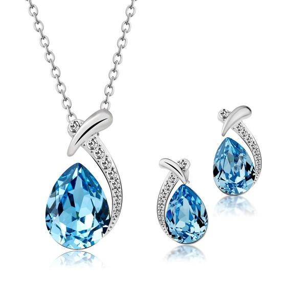 T400 Jewelers Waterdrop Necklace Swarovski - CV12MAJY221