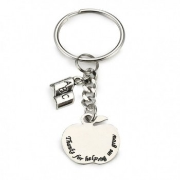 Personalized Teacher Bracelet Teachers Appreciation - Key Chain - C81886SY0WZ