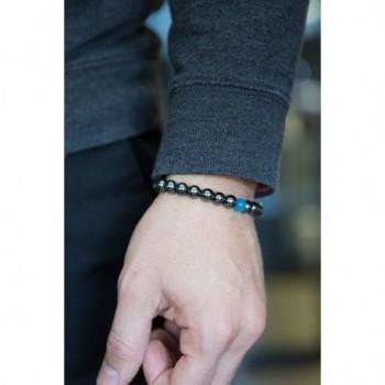 Beaded Bracelet Hematite Handmade Benevolence
