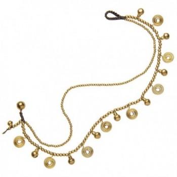 81stgeneration Womens Spiral Anklet Bracelet
