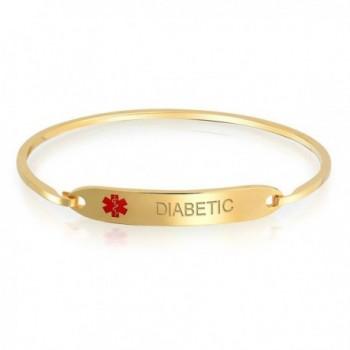 Bling Jewelry Jeweley Bracelet Engraving in Women's ID Bracelets