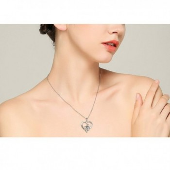 Sterling Silver Tiger Pendant Necklace