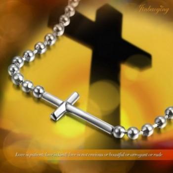 Jinbaoying Plated Stainless Steel Bracelet in Women's Strand Bracelets