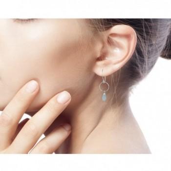 NOVICA Sterling Chalcedony Gemstone Earrings in Women's Drop & Dangle Earrings