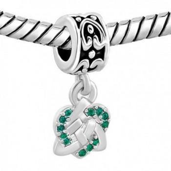 CharmsStory Celtic Spacers Dangle Bracelets