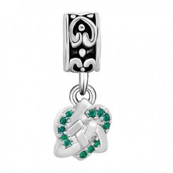 CharmsStory Celtic Spacers Dangle Bracelets in Women's Charms & Charm Bracelets