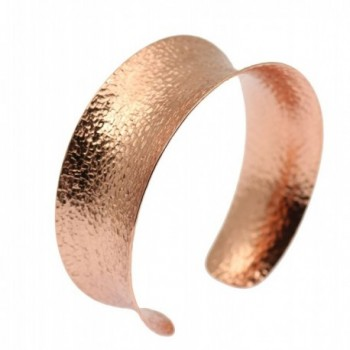 Anticlastic Texturized Copper Cuff Bracelet By John S Brana Handmade Jewelry Durable Copper - CJ12C7A3CSX