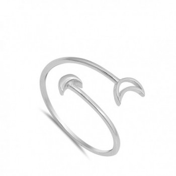 Thin Arrow Adjustable Sterling Silver