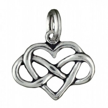 Corinna-Maria 925 Sterling Silver Infinity Heart Charm Forever Love - C411FX57AXD