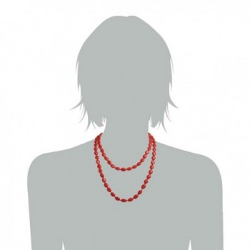 Jane Jewelry Clothing Necklace Fn1274 Red