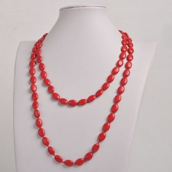 Jane Jewelry Clothing Necklace Fn1274 Red in Women's Pendants
