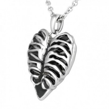 Controse Silver Toned Stainless Steel Necklace