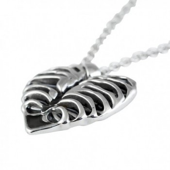 Controse Silver Toned Stainless Steel Necklace in Women's Pendants