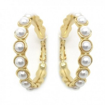 Sparkly Bride Earrings Simulated Fashion in Women's Clip-Ons Earrings