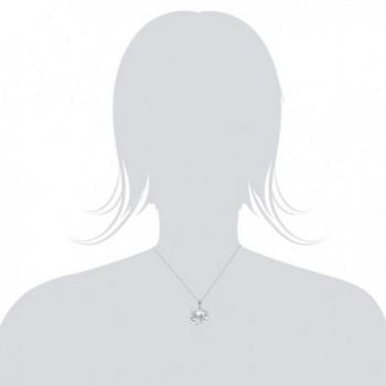 Sterling Silver Stone Necklace Pendant in Women's Pendants