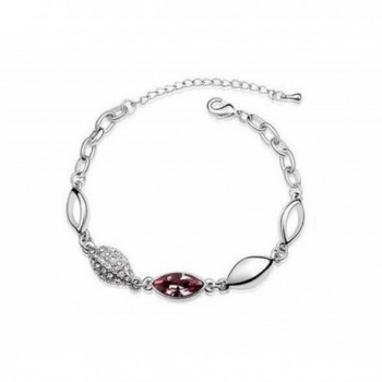 Cougars Choice Platinum plated Necklace Bracelet in Women's Jewelry Sets