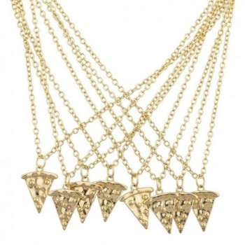 Lux Accessories Goldtone Friends Necklace
