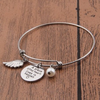 Piece Heaven Memorial Jewelry Bangle in Women's Bangle Bracelets
