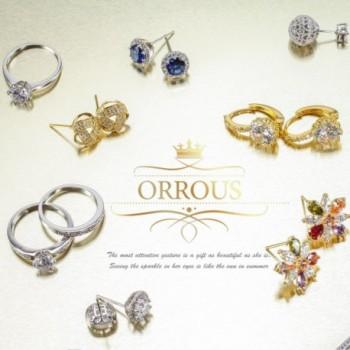 Simulated Solitaire Zirconia Earrings 10 5 11mm in Women's Drop & Dangle Earrings