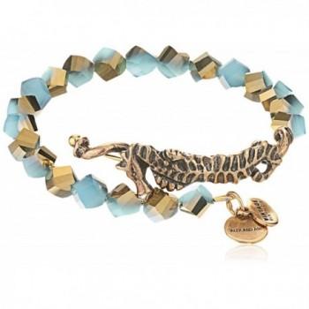 Alex and Ani Women's Seahorse Wrap Bracelet Marina/Gold One Size - CH12EPJBN4Z