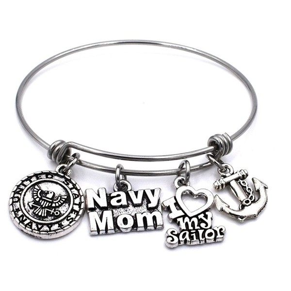 US Military Mom/Wife Charm Bracelets - CB185RULARE