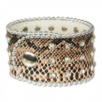 SilberDream leather bracelet Zirkonia LAP229B - CJ116I2DQXT