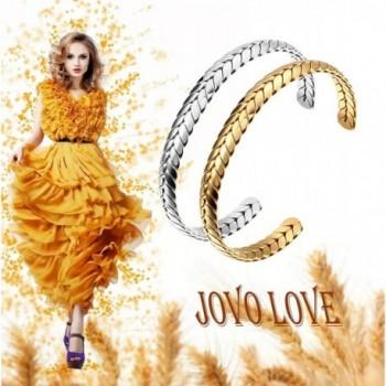 JOVO LOVE Stainless Bracelet Thanksgiving in Women's Bangle Bracelets