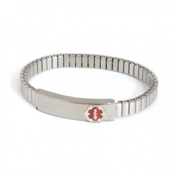 Medilog Medical Bracelet Speidel Expansion - Silver Tone - C21175PFK9V