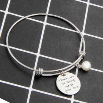Stepmother Stepmom Bracelet Loving Adjustable in Women's Charms & Charm Bracelets