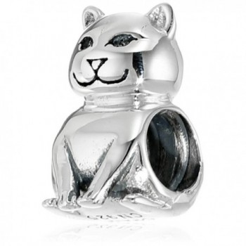 Chamilia Sterling Silver Cat Bead Charm - CC11DGJJIV1