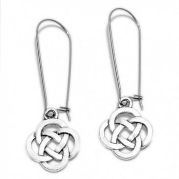 Sabai NYC Knots Dangle Earrings on Kidney Ear Wires - C812O10A27P