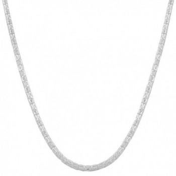 Sterling Silver 2.4-mm Oval Popcorn Chain (24 Inch) - CT118NE79PV