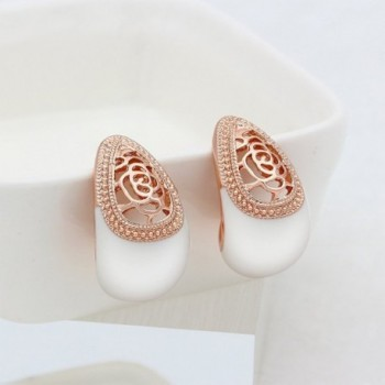Kemstone Vintage Filigree Earrings Bohemian in Women's Stud Earrings