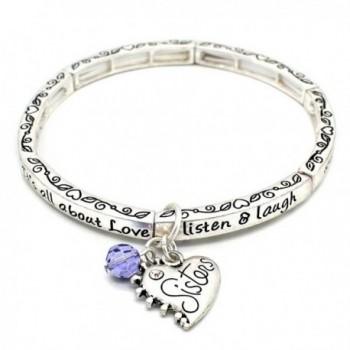 About Love Charm Bracelet Sisters - CV127L0X8XJ