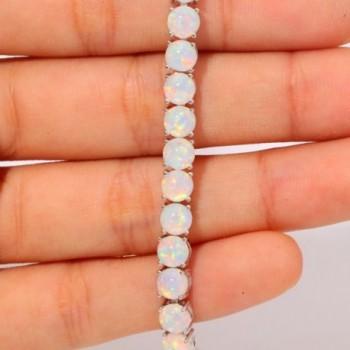 CiNily Gemstone Adjustable Bracelet OS593 in Women's Link Bracelets