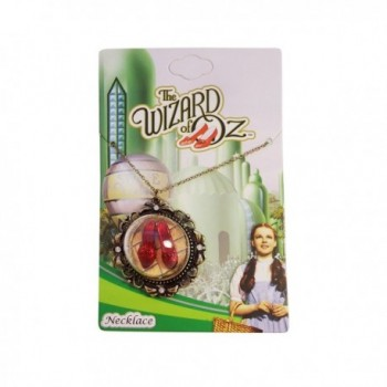Wizard Oz Ruby Slippers Necklace