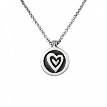 Be-Loved Pewter Locket Necklace - C6119VAEC23