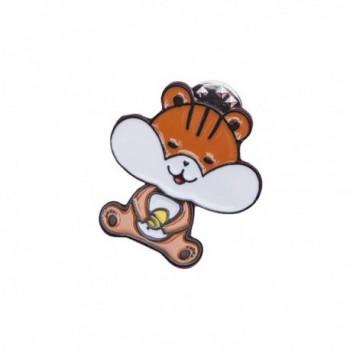 Brooch Jewelry Rhinestones Crystal Gem Bling Novelty Fashion Pin - Hamster - C5189236DHW
