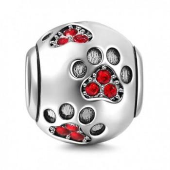 Charms Sterling Birthstone Crystal Bracelets